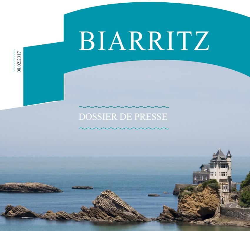 Dossiers de presse office de tourisme biarritz - Office de tourisme de biarritz ...
