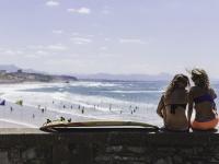 La mythique plage de la Côte qui a vue la naissance du surf est un spot toujours aussi courru 60 ans après! @Damien Domhen