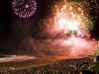 Magie et et émotions. Les feux d'artifice de Biarritz, un spectacle aux mille facettes