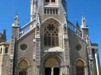L'Eglise Sainte Eugénie, magnifique édifice de style néo-gothique construit entre 1898 et 1903. @Chloee Servant. Photo non libre de droit